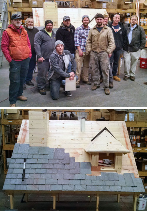 Slate Roofing Contractors Association Installation Training Program